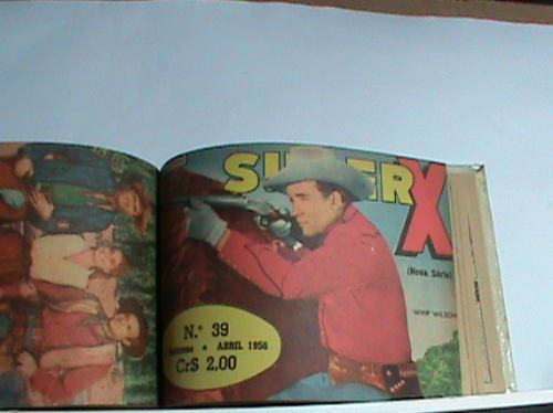 Revistinha Super -x - Ano: 1956 - Relíquia - Raridade