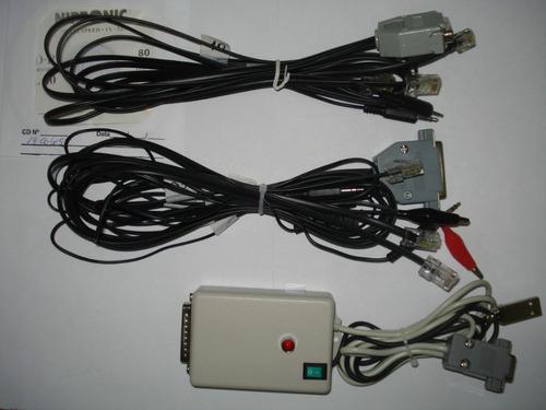 Rib 13 Cabos Icom, Motorola, Kenwood, Vertex, Yaesu, + Cd.