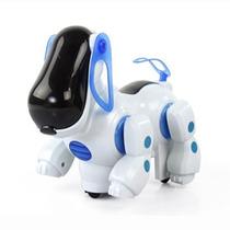 Cachorro Robô Late Anda Acende Luzes C/ Música