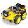 Kit Robótica Carro Controle Remoto Bluetooth P/ Arduíno