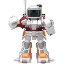 Takara Tomy Battroborg 20 Mini Rc Robot 03 (star White)