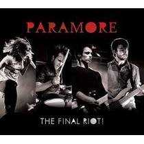 Paramore - The Final Riot! - Live From Chicago - Cd + Dvd.