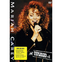 Dvd Mtv Unplugged + 3 Mariah Carey [eua] Novo Lacrado