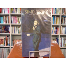 Vhs - Simply Red Live In London - Raríssimo!!!
