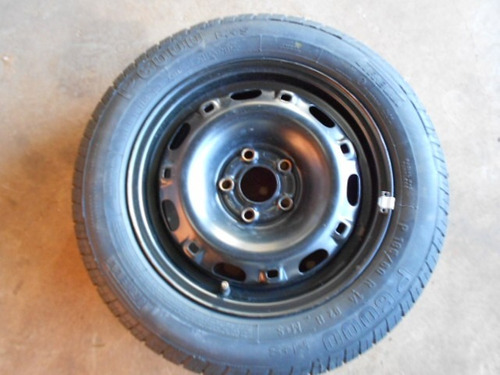 roda estepe original polo fox golf 5 furos c pneu aro 14 r 239 90 no mercadolivre. Black Bedroom Furniture Sets. Home Design Ideas