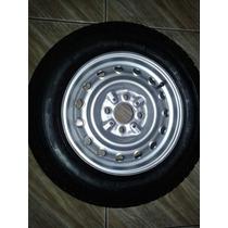 Roda De Fiat 147 Com Pneu F570 145 / 80