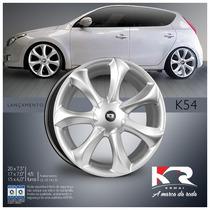 Roda Infinity K54 Aro 14 4 Furos Hb20/ Siena/ Clio/ Onix