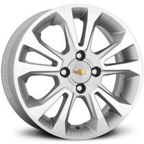 Roda Onix Ltz Aro 15 - Prata Diamantado