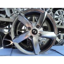 04 Rodas Réplicas Audi A5 Aro 15 4x100 Pintura Gloss Novas