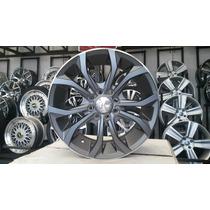 04 Rodas Audi A6/rs6 Aro 15x6 4x100/108 Frafite Foscas Nova