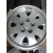 Roda Opala Aro 15 Furacão 5x114,3 Prata Original