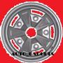 Roda Estrela 5x205 R15 Tala Larga 4a10 Fumagalli Fusca Kombi