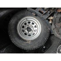 Roda Do Jeep Aro 15 Com Pneu R$380,00 Usado Bom Só Uma 5x139