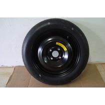 Estepe Fino Honda City E Fit Aro 15 C/ Pneu Kenda 135/80/15