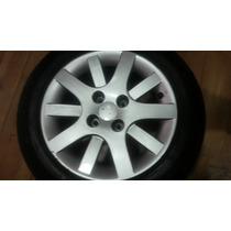 Roda Peugeot 207 Pneu No Estado, H