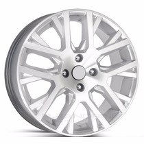 Roda Aro 15 Saveiro Cross 2015 5x100 - Prata Diamantada
