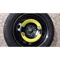 Estepe Vw Golf / Audi Aro 16 5 X 100 Com Pneu Pirelli P7