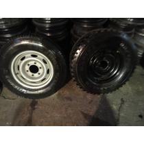 Roda Nissan Frotier R$250,00 Aro 15 6x139 Cada Pneu Friza
