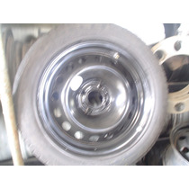 Vendo Roda E Pneu Dá Citroen R$280,00 4x108 Aro 16 205 55