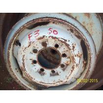Roda Aro 16 Rarissima P Ford F3 Decada De 50 Com 8 Furos