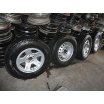 Vendo Roda Com Pneu 245 70 16 R$350,00 Cada Usados Pirelli