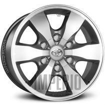 Roda Hilux Aro 16 - Grafite Diamantado