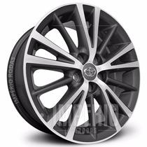 Roda Corolla Xei | Altis 2015 Aro 16 - Grafite Diamantado