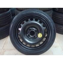 Estepe Fino Gm Onix,spin,agile 4x100 C/ Pneu 115/70/16