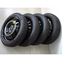 Estepe Sonic Pneu Continental 115 70 R16 Novo 4 X100