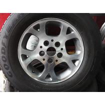 Jogo De Rodas Aro 16 Jeep Cherokee C/ Pneus Furação 5x127