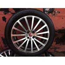 Jogo De Rodas Aro 18 Com Pneus 245/45r18 Fiat Stilo