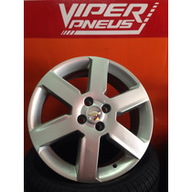 Jogo De Roda Aro 17 Gm Chevrolet Montana Sport - Prata