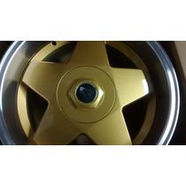 Jogo De Rodas K56 Borbet Aro 17x7 4x100/108 Dourada