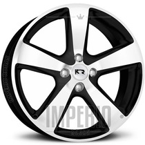 Roda New Beetle Aro 17 - Preto Diamantado