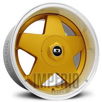 Roda Krmai K56 Aro 17 - Dourada Com Borda Diamantado