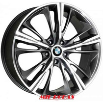Roda Aro 17 Bmw 4 Series Grafite Diamantada 5x105 Gm Cruze