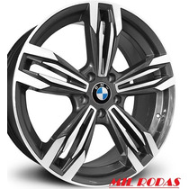 Roda Aro 17 Bmw M6 Gran Coupe - Grafite Diamantada 5x100