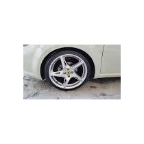 Rodas Ferrari Rocket + Pneus 205/45/17 Onix Punto Hb20 Palio