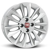 Roda Fiat Linea T-jet Aro 17 Prata Diamantada