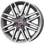 Roda Aro 17 Fiat Punto Sporting - Grafite Diamantada - 4x98