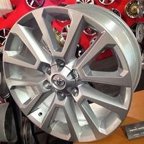Roda Toyota Hilux 2016 Aro 17 - Prata/ Grafite Diamantada
