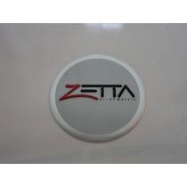 Emblema Adesivo Zetta Para Rodas Esportivas 55mm