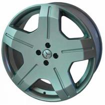 Rodas Krmai R48 Aro 17 +pneus Mercedes Uno Gol Corsa Golf Up