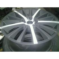 Roda Aro 17 Tsw Preta Com Diamantado Fosco Peugeot 4x108