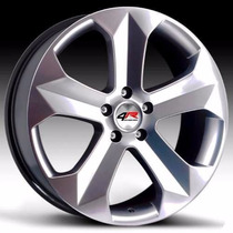 Rodas Krmai K47 Aro 17 +pneus Audi Golf Focus 207 Gol Celta
