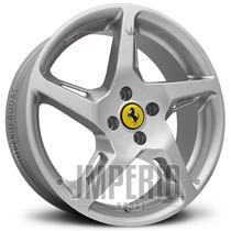 Roda Ferrari 458 Italia Aro 17 - Prata