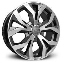 Roda Krmai R35 Audi Rs6 Aro 17 - Grafite Diamantado