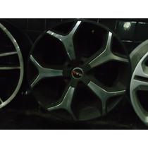 Roda 18 Mak Italy Preta C\cromado 5x108 Ford Focus-volvo +