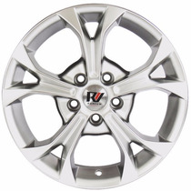 Ramlowp580 New Civic Prata/diamantada 5x114