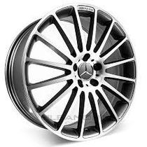 Roda Mercedes C63 Amg Aro 20 5x112 Grafite Diamantada